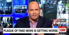 Fake news rules with an iron Like-button. SOURCE: CNN