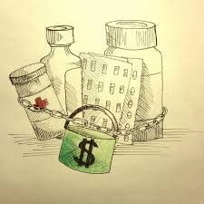 Patents tie-up drugs from being properly tested. SOURCE: YALE JOURNAL OF MEDICAL AND LAW