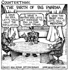 How the conspiracy theorists view the pharmaceutical industry SOURCE: Newstarget.com
